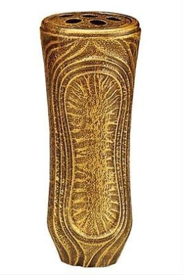 Grabvase Daniel bronzefarbig 26 cm