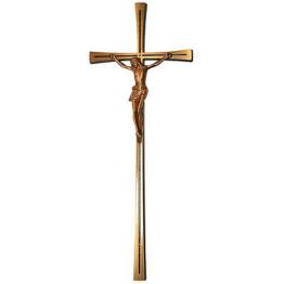 Jesus Kreuz Relief Ornament Grabschmuck  Kreuz   Messingkreuz gross  x500gr