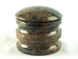 Weihwasserkessel Exclusiv Granit Gneis Weihwasserbehälter Grabschmuck Grabmal