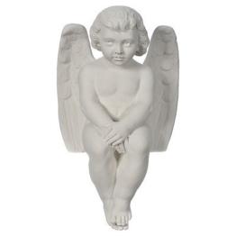 Engelchen Cherubim, Marmor, 40 cm