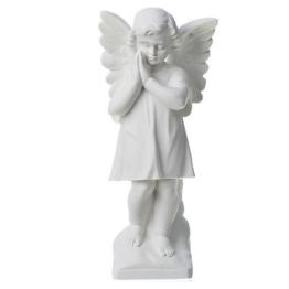 Engelchen vereinte Hände, aus Marmor, 30 cm