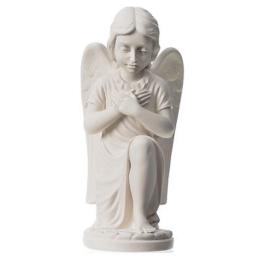 Engelchen weisser Marmor von Carrara, 34 cm