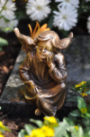 Engel/Engel aus Bronze/Schutzengel/Grabengel/Grablampe