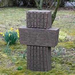 Grabkreuz Höhe ca. 108 cm, Wegekreuz 65 kg Bronzeguss, Gedenkkreuz, Kreuz