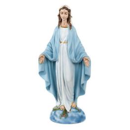Heiligenfigur Immaculata 40 cm kunstmarmor
