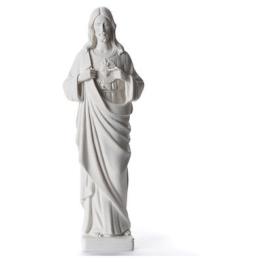 Heiligstes Herz Jesu 38-53cm Kunstmarmor