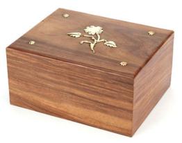 Kremations Asche Urne / Asche-sarg MASSIVHOLZ Hadley 250 CI (UU110013A)