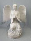 Marmor Engel mit betenden Händen,  60 cm hoch!