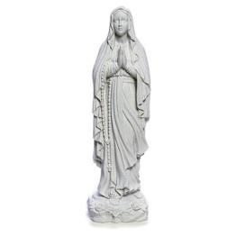 Marmorguss Unserer Lieben Frau Lourdes 40 cm