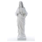 Statue Marmorpulver Heiliges Herz Jesu