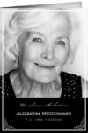 Trauerkarte Loretta (Klappkarten DIN A6 hoch)
