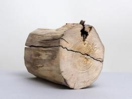 Urne aus einem Stammteil / Urne T 103