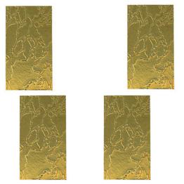 Ersatzgläser   für Grablaternen  Grablicht 4 Stück  --- 160mm x 80mm
