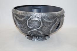 Grabschale aus Aluminium Strassacker 54180  35 cm, Pflanzschale
