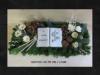 T15.63. Grabschmuck Gesteck Herz Totensonntag Gedenken Grabgesteck Allerheiligen