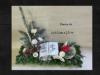 T15.64. Grabschmuck Gesteck Herz Totensonntag Gedenken Grabgesteck Allerheiligen