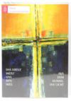Trauerkarte - Das Kreuz weist uns den Weg