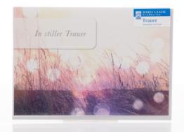 Trauerkarte - Gräser & Licht