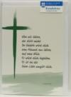 Trauerkarte - Wen wir lieben, der stirbt nicht