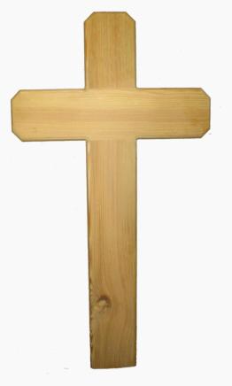 Holzkreuz Lärche  Straßenkreuz Unfallkreuz Wegekreuz Grabkreuz Bestattung Trauer