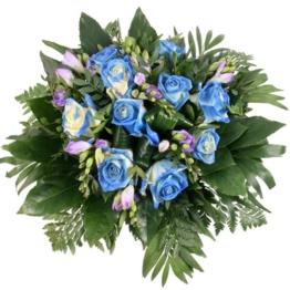 Blumenstrauß Blue Magic