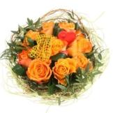 Rosentraum in Orange