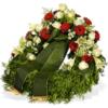 Ruhe sanft - Fleurop Trauerkranz verschicken