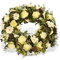 Für immer im Herzen - Fleurop Trauerkranz