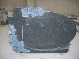 Grabstein, Grabmal, Granit, Doppelgrab, Stein, Grabanlage, Rose, Rubas