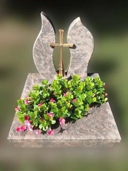 Grabstein, Grabmale, Einzelgrabstein, Grabanlage, Urnengrab, Urne, Rubas