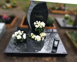 Grabstein, Grabmale, Einzelgrabstein, Stein, Grabanlage, Urnengrab