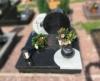 Grabstein, Grabmale, Grabanlage, Einzelgrab, Ornament, Urnengrab