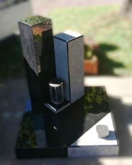 Grabstein,Grabmale, Grabanlage, Granit, Urnengrab, Rubas, Wittlich