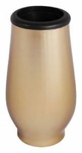 Grabvase Edelstahl Oberfläche : bronzeton Grab Vase Friedhof Vase Grabschmuck