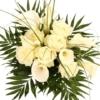 Premium Rosen und Calla - White Elegance plus gratis Secco Hugo