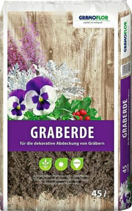 15L Graberde Dekorerde Spezialerde f. Grabbepflanzung GE13201