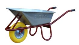 Capito Tiefmuldenkarre ALLCAR 100, PU-Gelb - fertig montierte Lieferung