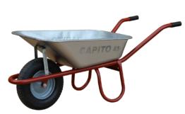 Capito Tiefmuldenkarre ALLCAR 85, Luftrad Kugellager - fertig montierte Lieferun