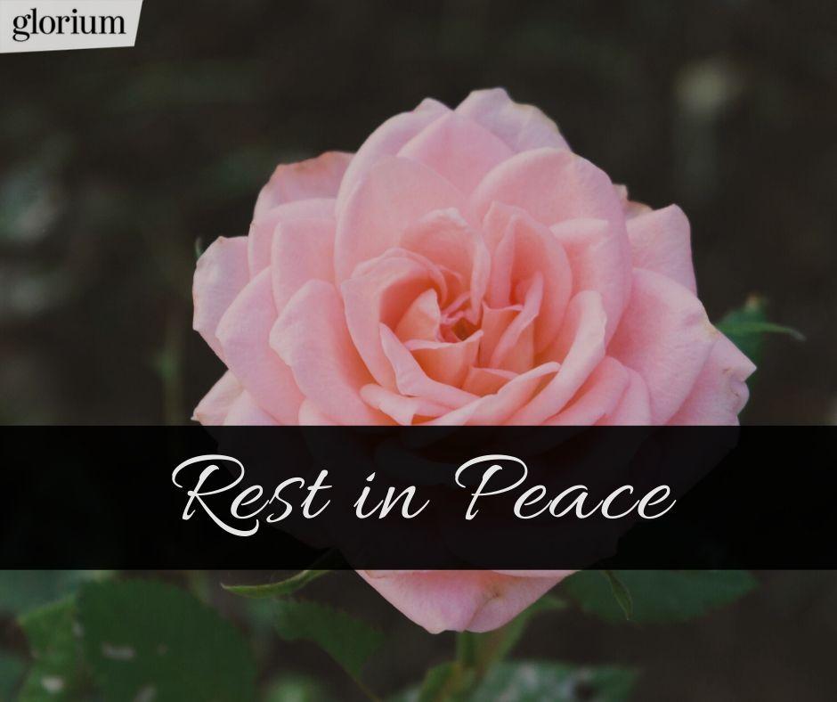 glorium Trauer App - einfühlsame R.I.P. Bilder